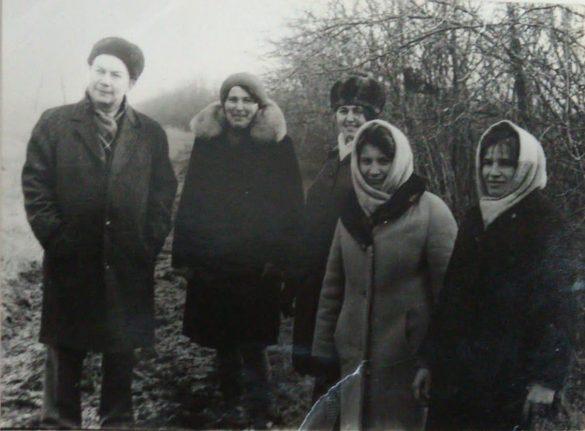 1974 г игра зарница Телепнев Г. В., Гнездилова Д. М., Лесникова Е. И., Семенихина А. Г., Зиборова О. В.